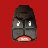 DODGE REMOTE HEAD KEY RUBBER