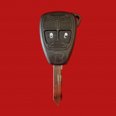 DODGE REMOTE SHELL WITH KEY
