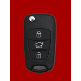 KIA SHELL FLIP KEY