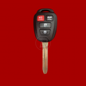 TOYOTA REMOTE WITH KEY SHELL